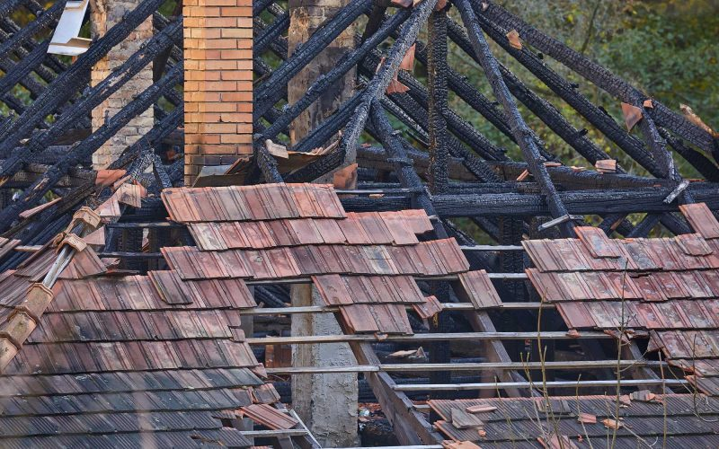 Dealing with the aftermath of a fire